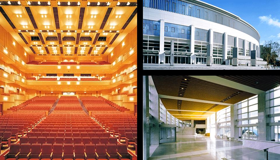 松戸市文化振興財団の運営する森のホール21、松戸市民劇場